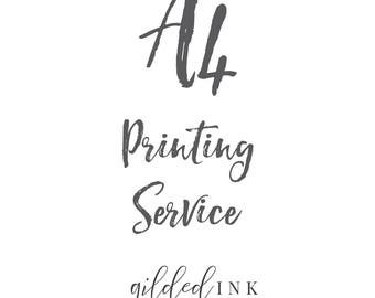 A4 Printing Service