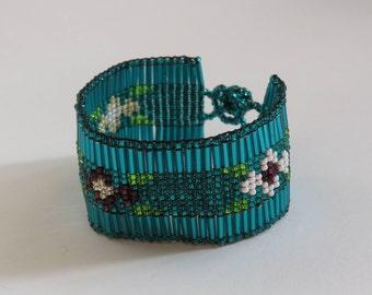 Bracelets handmade made from beads