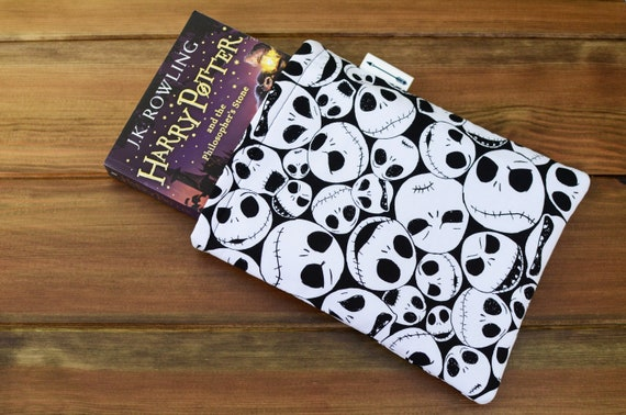 Nightmare Before Christmas Jack Face Book Sleeve