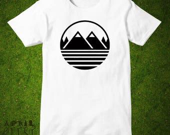 Twin Peaks Shirt Mountains Shirt Men Women Unisex Tee shirt