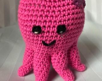 Octavia the Octopus, stuffed animal