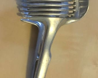 Vintage Cast Aluminum Tomato Slicer Made in Taiwan  PAT. NO. 19496