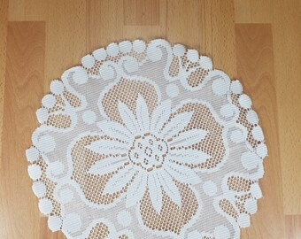 Tablecloth - Handmade - Crochet Crochet - Decor.
