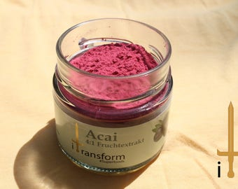 Acai , Superfoods in Glas , Natural , Supplement ,Healthy