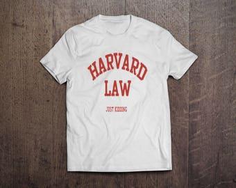 Faux Harvard Alumni Tee