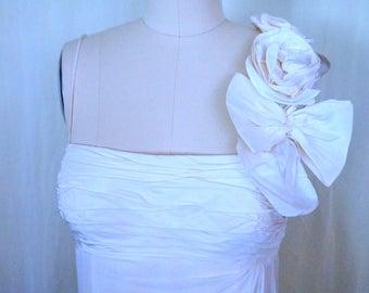 Silk Chiffon Vintage Gown