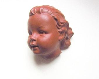 Goebel Hummel Baby Girl Wall Mask