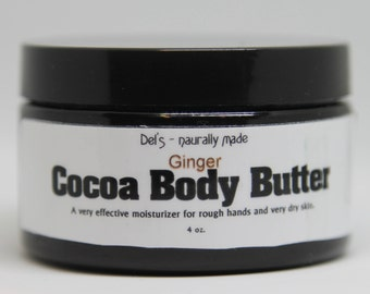 Ginger Cocoa Body Butter