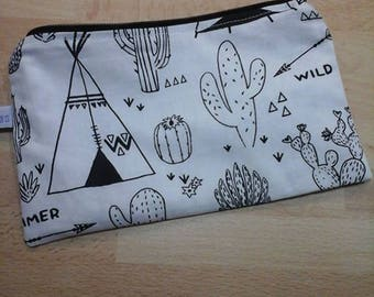 Cute pencil case, coloring