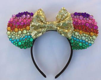 Rainbow Diamond Ears