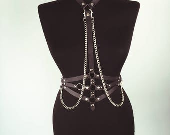 Leather Accesories | Body Harness  | Leather Top | Chest Harness | Leather Belt | Leather Accessories | Leather Fetish