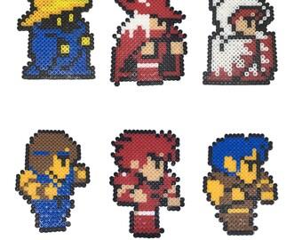 Perler Bead - Final Fantasy I - FF1   Bead Sprite   Fuse Beads   Pixel Art   Hama   Artkal  