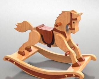 Rocking Horse - Antique style, 1890 design