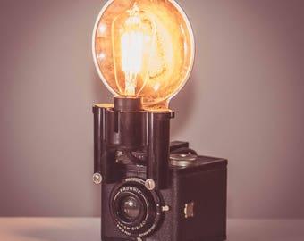 Antique Kodak Brownie 16 Lamp