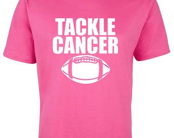 Cancer T-shirt Awareness Rackle Cancer, breast cancer Pink ribbon Tee Cancer Run Fight cancer