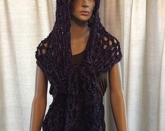 Womens Knit Scarf/Wrap