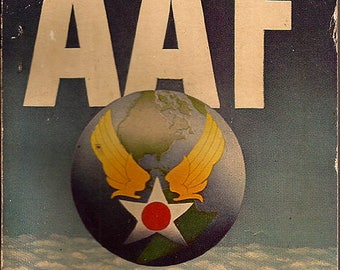 The Official Guide to the Army Air Force - 1944 Paperback Publication