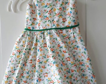 Floral sundresses, cotton baby dress baby girl (50 mt).