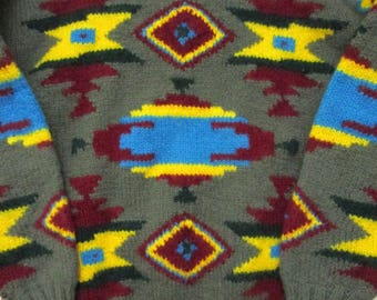 Vintage Ralph Lauren Southwestern Sweater S
