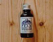 Organic BEARD OIL | Mount Peak | Blend includes: peppermint - Tea Tree - Cedarwood - Cinnamon | Natural Beard Conditioner
