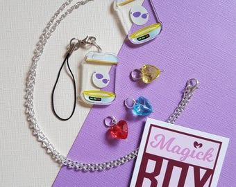 Pokemon Go * Egg Incubator * Necklace or Phone Charm