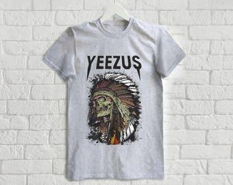 Yeezus Tour Shirt Kanye West Album Tee Shirt Yeezy T Shirt Yeezus Tour Tee Yeezus Album T-Shirt The Life of Pablo Tshirt Yeezy Season Shirt