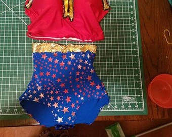 Wonder Woman Inspired Bathing Suit