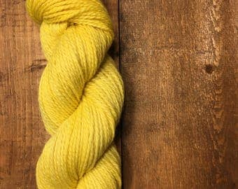 BULKY 2 PLY highland wool HONEY