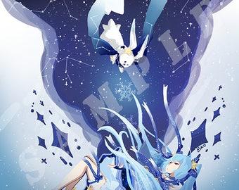 Snow Miku Print