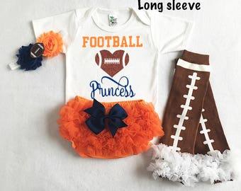 baby girl virginia cavaliers football - cavaliers baby - cavaliers football baby - baby girl football - football leg warmers - girl cavalier