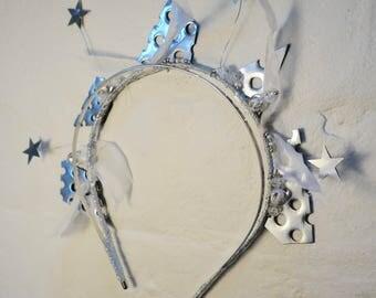 Galaxy Headband - Silver