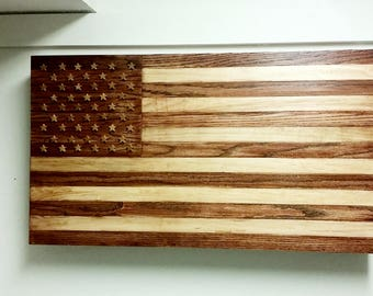 American Flag Patriotic Concealed Storage Case / Cabinet for Tools, Guns or Weapons Etc