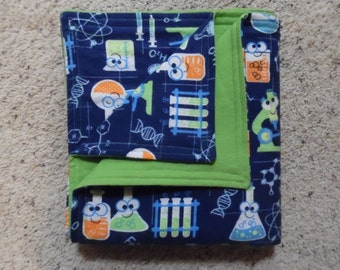 Beakers and Test Tubes Baby/Toddler Blanket