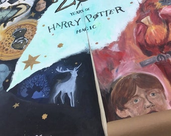 Harry Potter 20th Anniversary Mural