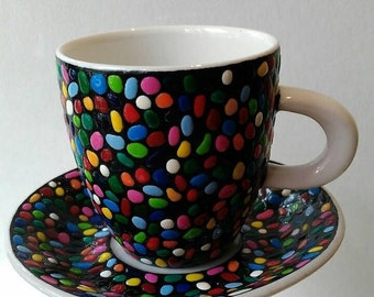 Coffee cup and saucer  (espresso)