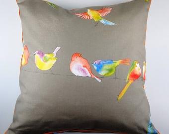 Cushion cover 50 x 50 - birds