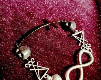 Luciferian bracelet - sigiloflucifer lucifer occult witch witchcraft  gothic baphomet blackmagic