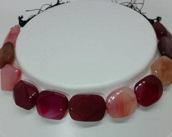 Chalcydoni fancy bead