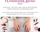 ALL Special Deal Listed | Extended License for SVG & PNG file from C. Design