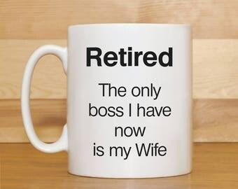 Retirement mug, Retirement gift, Mug with saying, Retired mug, Funny mug, Mug for Husband, Mug for Dad, Mug for men, Mug for Grandad, Mugs,