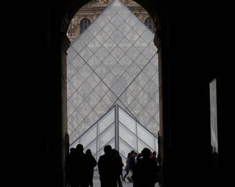Shadows at the Louvre