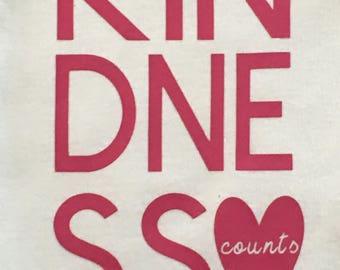 Kindness Counts - Toddler/Children's Tee
