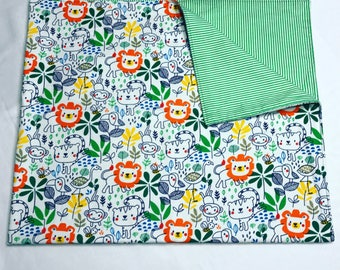 Jungle Theme Receiving Blanket