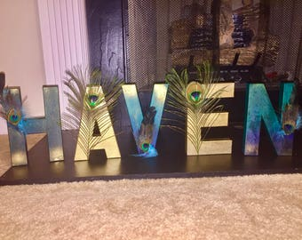 Customized Name Letters