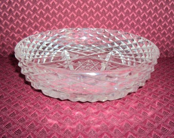 Waterford Crystal Round Butter Dish