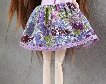 Purple liberty dress - Pullip/Blythe