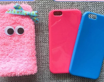 Monster Pink Phone Pouch