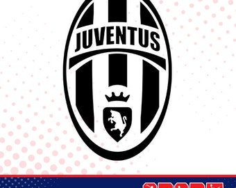 Juventus silhouette, sport silhouettes, Soccer silhouette SS-SO-011