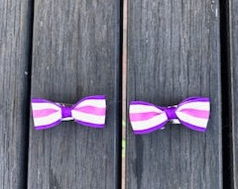 Pretty in Purple Horse Show Bows