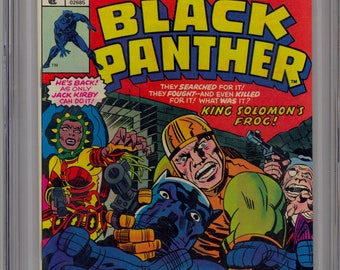 Black Panther #1 CGC 9.8 NM/M 1977 - Jack Kirby story and art htf!! New Movie!